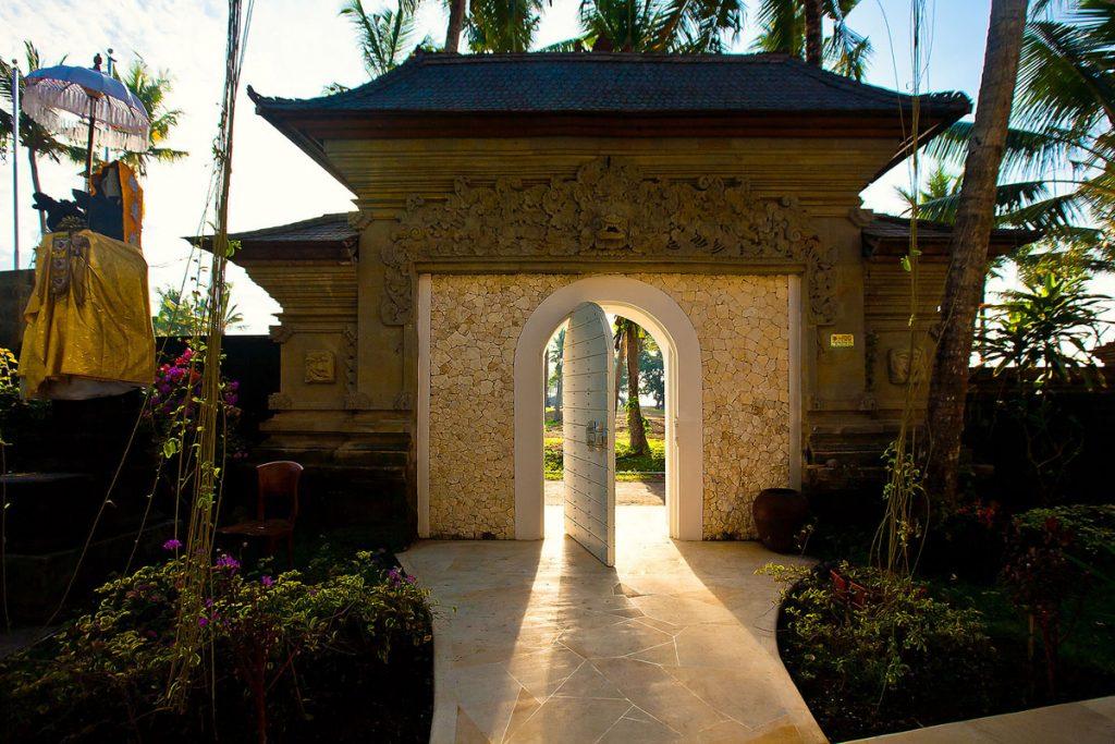Villa Puri Nirwana Villa entrance