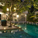 villa-senang-the-residence-seminyak-exterior-pool-night