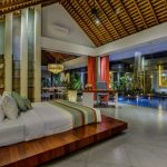 Villa-Banyu-Bali-Bedroom-View-Evening
