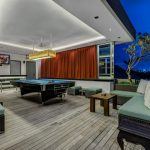 Villa-Banyu-Bali-Pool-Table-Evening