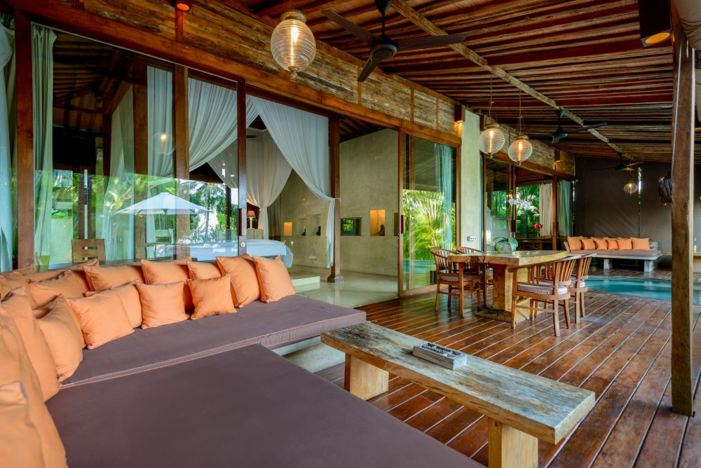 Villa-Shalimar-Cantik-Living-room-and-dining-by-the-pool