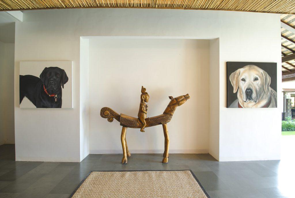 Villa Theo Umalas Artwork