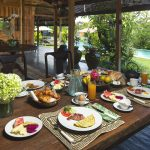 Villa Theo Umalas Breakfast Set Up